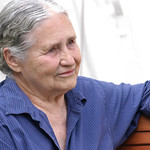 Doris Lessing at the 2003 Edinburgh International Book Festival