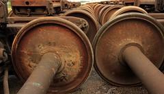 Steel wheels (Twin Cities Seen) Tags: railroad minnesota steel wheels minneapolis tokina1224 canont3i twincitiesseen