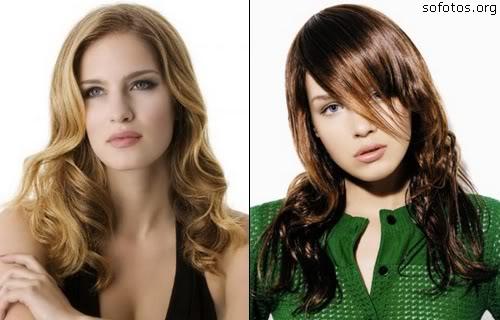 cortes de cabelos longos femininos