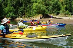 The Gathering (photobyrad) Tags: river kayak paddle canoe willametteriver