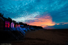 Beach Huts & Sunset 2/2