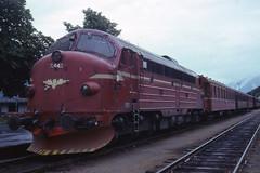 JHM-1977-1181 - Norvège, Andalsnes, train (jhm0284) Tags: norvège norvege