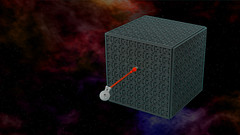 Where no brick has gone before... (the_jetboy) Tags: startrek trek star lego borg galaxy nebula cube enterprise borgcube