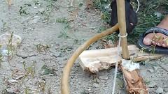fuoco con archetto (SergioBarbieri) Tags: test creek fire arc trouble arco survival prova fuoco headband primitive primitivo torrente friction archetto attrito fuococonarchetto