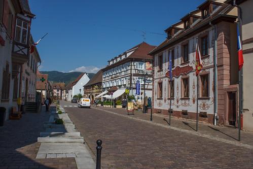 Entrée d'Eguisheim