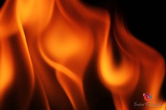 FIRE ART (Sanka G. Vidanagama) Tags: red black art yellow fire background creative sri lanka burning sanka fireart sankavidanagama vidanagama