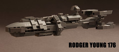 Rodger Young 176 (Blockaderunner) Tags: ship lego space united young troopers fleet citizen federation starship rodger