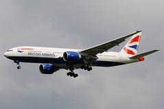G-VIIP (LIAM J McMANUS - Manchester Airport Photostream) Tags: man manchester british ba boeing britishairways baw boeing777 772 b777 egcc speedbird b772 boeing777200 77l boeing777200er b77l gviip
