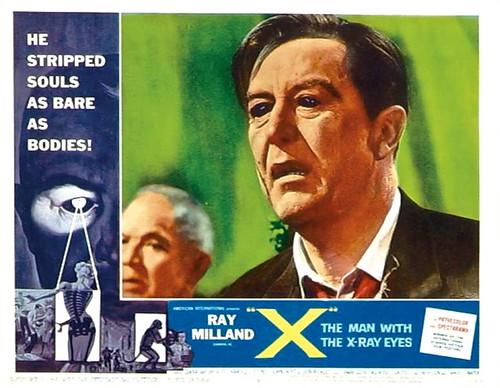 The man with the x ray eyes aip 1963 lobby card 11 x 14