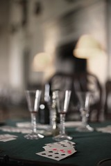 Six of Hearts (Paul *) Tags: party 6 house game glass abbey hearts cards hall wine country pack national trust wiltshire spades lacock