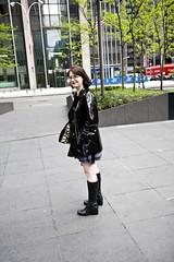 redux (traveller-28) Tags: nyc fetish boots helmet vinyl scifi wife corset raincoat catsuit pvc tumblr robowoman