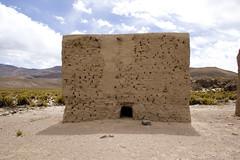 Sajama19 (Marisela Murcia) Tags: bolivia sajama chulpas nationalparksajamaaltiplanobolivianoculturaprehispánicacarangas chullpaspolicromas