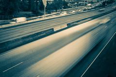 Unrush (ahockley) Tags: oregon portland traffic i5 vehicles motionblur freeway pdx roads