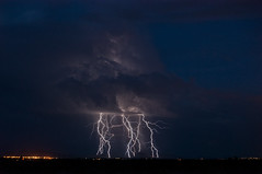 The Strike Zone (Steven Maguire Photography) Tags: arizona night clouds monsoon thunderstorm lightning cochisecounty chiricahuamountians