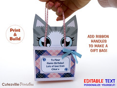 Kitty Cat Gift Box Printable PDF Gift Box With Editable Text Features - Personalize Yourself (Cutezville Printables) Tags: pink blue decorations cats cute art animal animals digital cat bag paper print fun grey design diy eyes kitten message box drawing unique tabby text tail pussy kitty craft file note card gift elements download boxes pdf etsy plaid build ideas greeting making yourself development goody edit tartan papermaking personalize notepaper giftbag giftbox cardstock printable cutesville changeable editable personalise papergoods funideas cuteideas paperelements cutezville