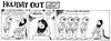 Holiday Out 820 (Michael Vance1) Tags: art comics artist satire humor fantasy jungle comicbooks parody comicstrip satyr cartoonist funnyanimals