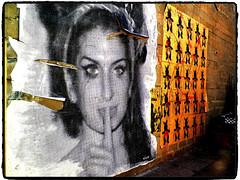 Amy Winehouse on wall  @Asbury Park NJ (Liliane77) Tags: amy asburypark wallart alleyway alleyart amywinehouse