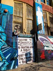 Welcome to 5POINTZ (UrbanphotoZ) Tags: nyc newyorkcity ny newyork love rooftop window boys painting fan bell urbanart queens hunterspoint permit fireescape longislandcity 5pointz aerosolart boas ptb 5ptz hda welcometo5pointz arlopa