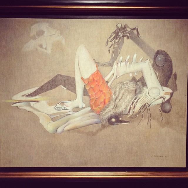 """Sin Título 1977 • """"El Pasado Presente"""" de Gerardo Chávez #art #arte #arteenlima #artinlima #artista #artist"""