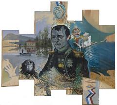 Parkett Napoleon_69x80cm (Marcos Palazzi) Tags: people art animal painting mono oil napoleon pinocho