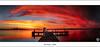 Belmont - NSW (John_Armytage) Tags: sunset panorama clouds dusk belmont pano jetty australia panoramic nsw leefilters novaflex squidsink johnarmytage canon5dmark3 sigma35mmf14dgusm