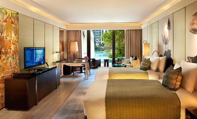 サイアム ケンピンスキー ホテル バンコクのオススメポイント:Cabana Room