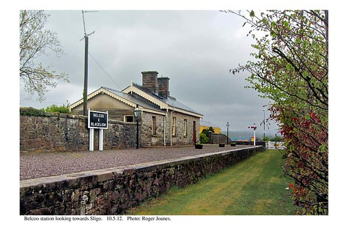 Belcoo station looking towards Sligo. 10.5.12