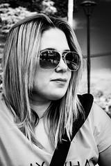 Flower (Beto Vilaboim) Tags: bw woman girl sunglasses pb