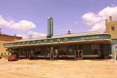Greyhound Half Way Station - Jackson, TN (SeeMidTN.com (aka Brent)) Tags: greyhound tn tennessee 1938 jackson artdeco busstation madisoncounty greyhoundstation greyhoundbusstation halfwaystation nrhp bmok top20of2013