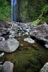 Hanakapiai Falls (Emily Miller fine art) Tags: pool hawaii coast waterfall hike falls na trail kauai pali kalalau napali hanakapiai