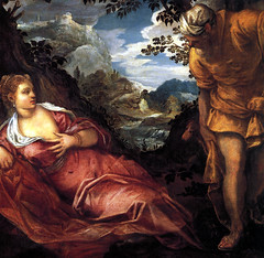 The Meeting of Tamar and Juda (lluisribesmateu1969) Tags: tintoretto museothyssenbornemisza madrid nude 16thcentury