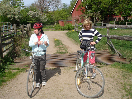 Nice bike trails/fina cykelleder