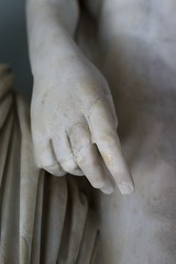 hold my hand (micmol ) Tags: italy sculpture rome art vertical closeup museum day hand finger fineart indoor nobody it bodypart lazio capitolini