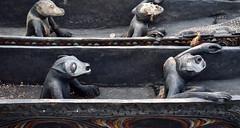 Let's go mate! (grannie annie taggs) Tags: sculpture men singapore figures