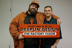 Aaron and I (scottboms) Tags: california me potd handpainted projects ddc facebook signpainting draplindesignco