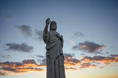 Jesus Christ (MrBlackSun) Tags: sunset france marseille nikon notredame vista notredamedelagarde lagardehill