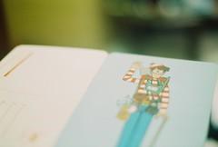 (yttria.ariwahjoedi) Tags: canon ae1 film analog indonesia bandung where waldo wally book postcard vintage game play story character cartoon illustrative colour