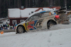 IMG_1528_Marco Rimola_EOS 7D_08_02_2014 (Marco Rimola) Tags: snow ice sweden rally rallycar mikkelsen andreasmikkelsen rallysweden rallysweden2014 swedenrally