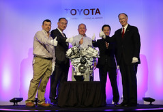 02-18-2014 Toyota Plant celebrates V6 Engine Expansion, Production of 3 Millionth Engine in Huntsville