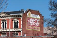 Coca Cola sign HDR (Walt Barnes) Tags: old brick sign canon vintage eos calif historic faded petaluma cocacola hdr brickwork topaz vintagesign 60d canoneos60d topazadjust eos60d wdbones99