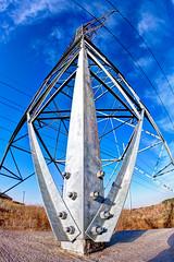 Killeen Power HDR (hz536n/George Thomas) Tags: sky tower power fisheye canon5d hdr killeen smrgsbord 2014 photomatix canonef15mmf28fisheye cs5 ef15mmf28fisheyeusm photomatix40