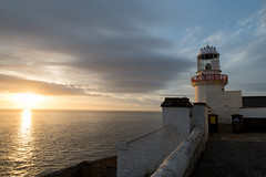 Wicklow Head Lighthouse (APK-2012) Tags: ireland light sea tower danger sunrise dawn head beam safe phare wicklowlighthousewicklow