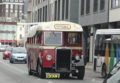 Lead driver (Coco the Jerzee Busman) Tags: bus bristol tiger ps1 cannon jersey swift char tours banc leyland stringer wadham lcb ecw lh6l