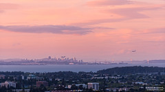 SF from SM (Bob Stronck) Tags: california landscapes baybridge sanfranciscobay coyotepoint sanfranciscoca stronckphotocom ©2014rmstronck