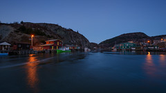 Dark Evening (Tk_White) Tags: ocean st night boats lights evening nikon slow shutter johns vidi quidi d7100 1024mm