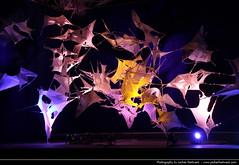 Tramas, Luminale, Palmengarten, Frankfurt, Germany (JH_1982) Tags: light art luz night germany dark paper deutschland noche licht glow hessen darkness nacht lumire frankfurt kunst installation glowing textiles papier nuit palmengarten notte dunkel beleuchtung francfort frankfurter  hesse meno stoffe  beleuchtet francoforte leuchten tramas luminale  frncfort