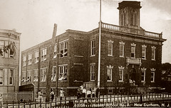Washington School P.S. 8 in 1913 (LennyNJ) Tags: school newjersey nj 1910s 1913 northbergen hudsoncounty publicschool newdurham