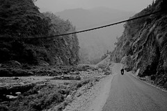 (tsering.phurpu) Tags: nepal people nature highway moments memories lifestyle hills bikeride constant roadconstruction hetauda dailylifes scenelandscape