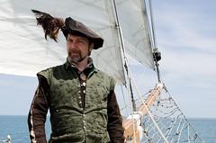 Captain Sir Francis Drake (Pahz) Tags: chicago pirates windy lakemichigan greatlakes navypier tallship bristolrenaissancefaire chicagoillinois tallshipwindy bristolpirates
