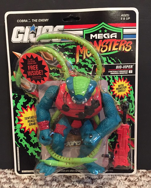 GI JOE - Mega Monsters - Bio-Viper